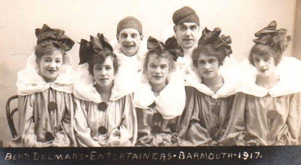 Bert Delmar's 'Entertainers', Barmouth, 1917