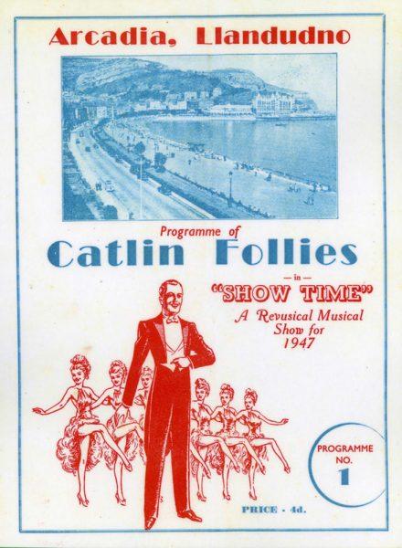 Rhaglen Follies Catlin