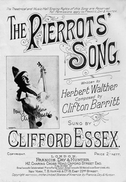 Clifford-Essex-songsheet