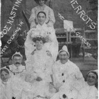 Joe Hasting's 'Crystal Palace' Pierrots, Beaumaris, 1905