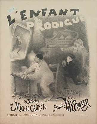 'L'Enfant Prodigue' score