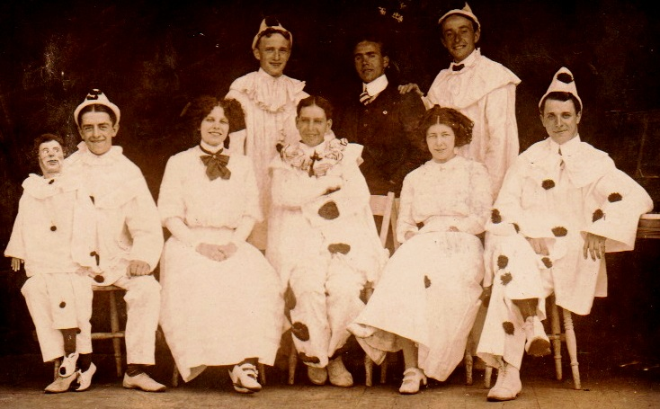 Ted Hopkins' 'Royal Pierrots', Porthcawl, 1905