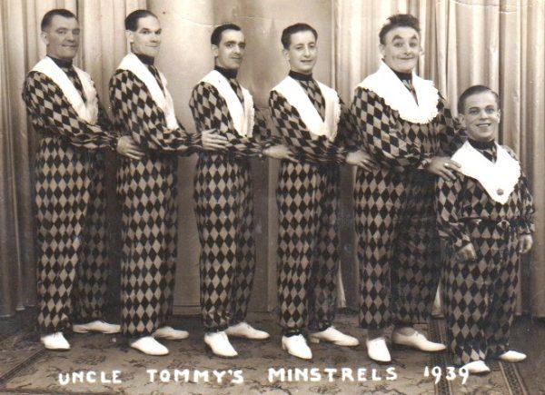 Uncle Tommy's Minstrels, Aberystwyth, 1939