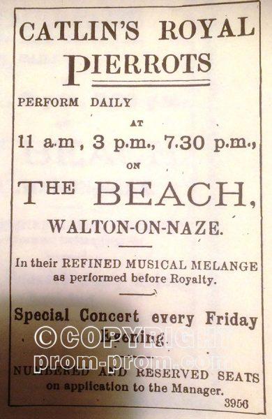 A rare poster for Catlin's, circa 1908