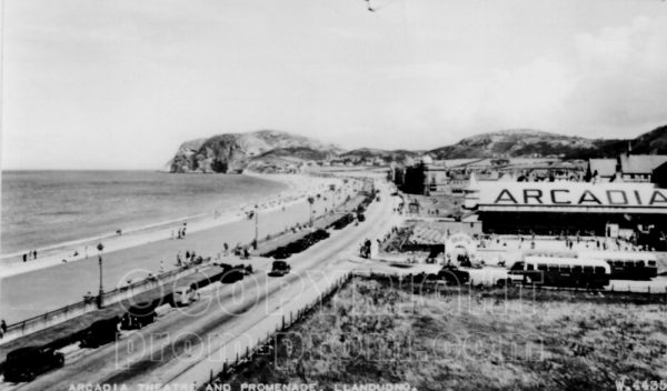 Arcadia Llandudno seafront