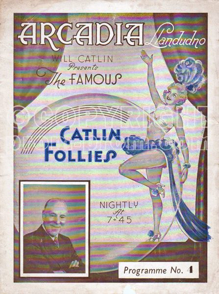 Catlin Follies Arcadia Llandudno, programme No.4
