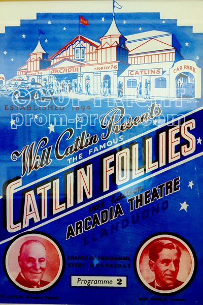 Catlin Follies Poster, 1952