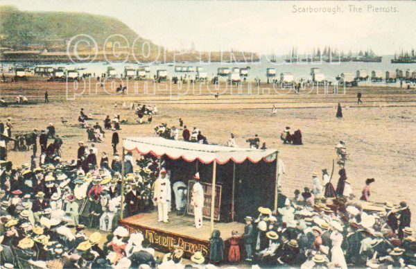 Catlin Pierrots, Scarborough, 1905