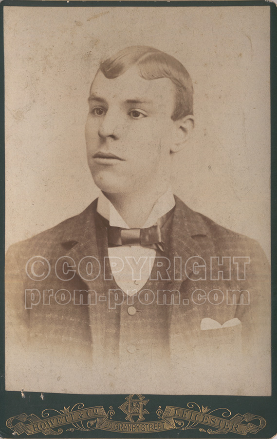 Will Catlin as a young man