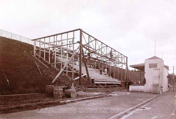 Catlin's venue being built Colwyn Bay
