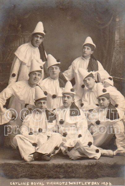 Catlin's Royal Pierrots, 1906, Whitley Bay