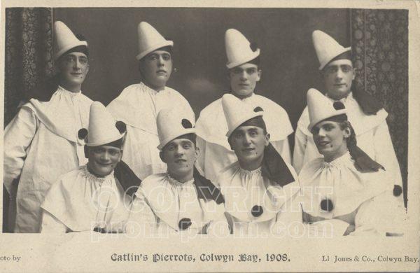 Catlin's Pierrots, Colwyn Bay, 1908