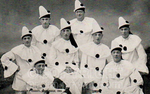 Catlin's Pierrots Scarborough 1908
