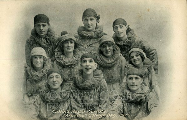 Catlin's Royal Pierrots Arcadia Colwyn Bay 1921