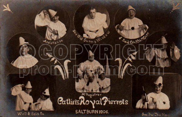 Catlin's Royal Pierrots, Saltburn, 1906
