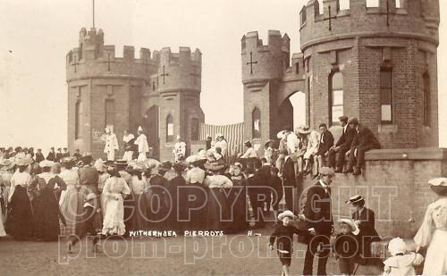Catlins Pierrots Withernsea castle background