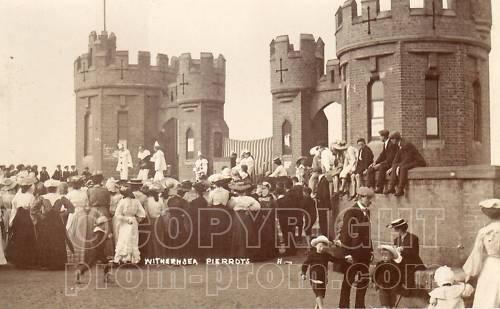 Catlins Pierrots Withernsea castle background