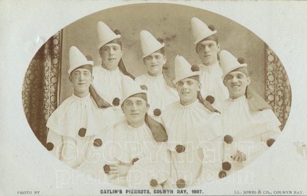 Catlin's Pierrots, Colwyn Bay, 1907