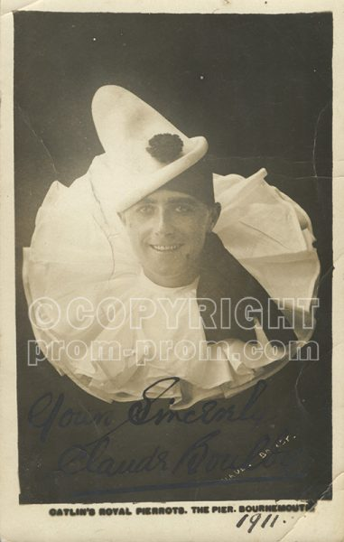 Claude Boulby Bournemouth 1911
