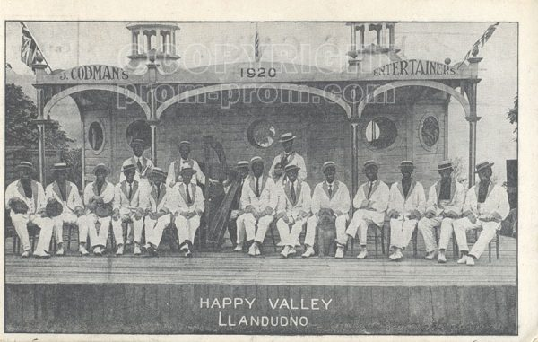Codman's Entertainers, Happy Valley, 1910