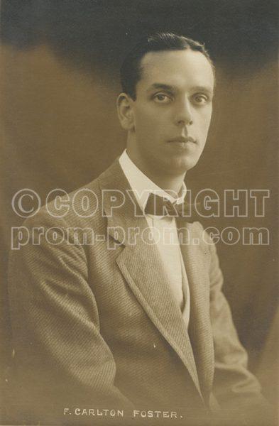 F Carlton Foster 1912