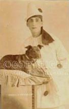 Harold Franklin & dog Catlin's Pierrots