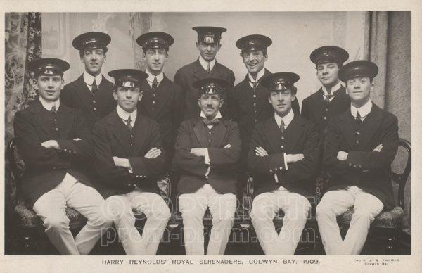 Harry Reynolds Royal Serenaders, Colwyn Bay, 1909