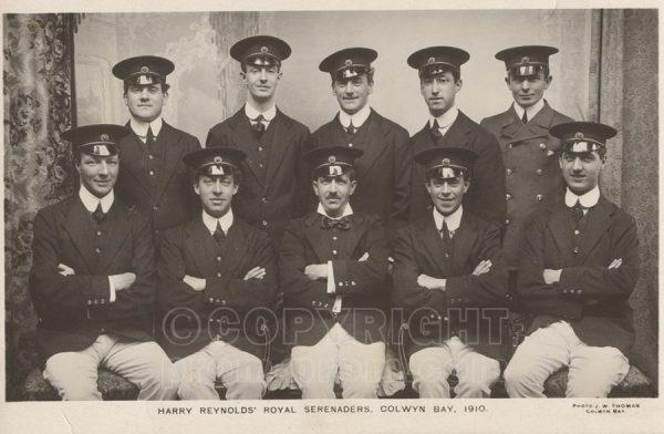 Harry Reynolds Royal Serenaders, Colwyn Bay 1910
