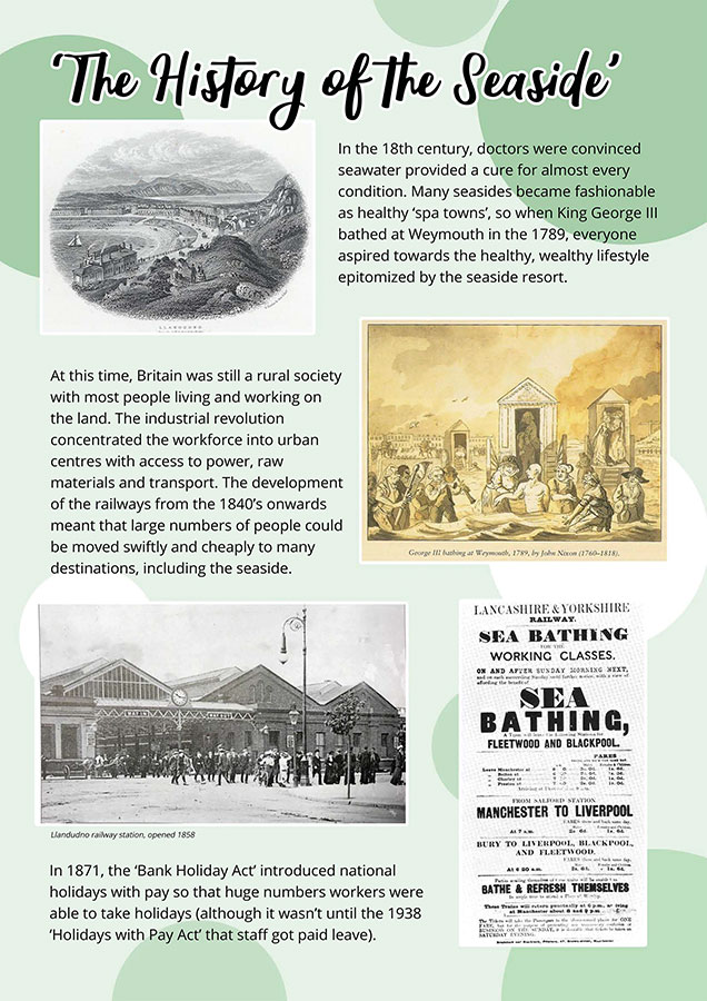 History of the Seaside