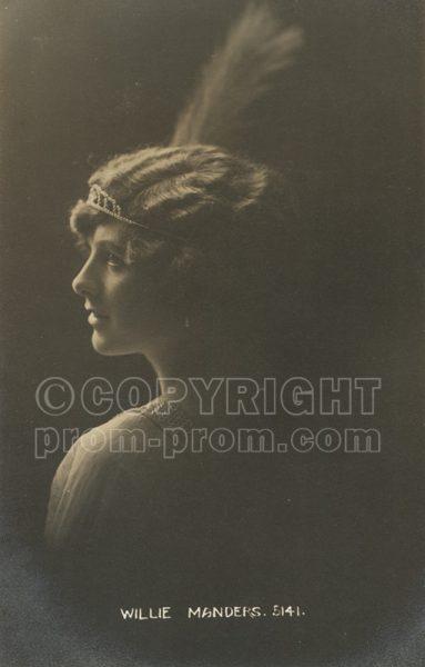 Willie Manders, 1914