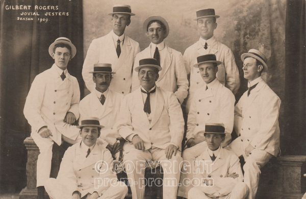 Gilbert Rogers' Jovial Jesters, Rhyl, 1909 (Front)