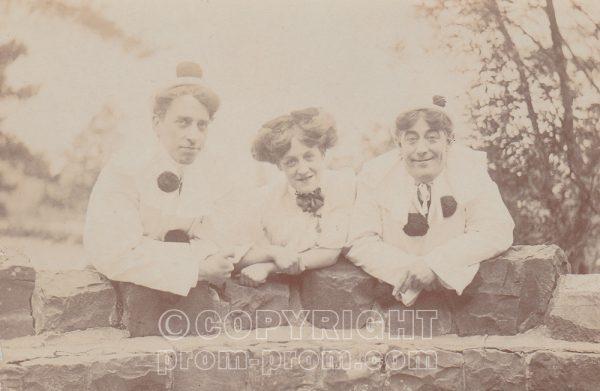 Adeler's Arcadians, Llandrindod Wells. Mollie Mason. Charliey Harvey R. Arthur Sutcliffe L