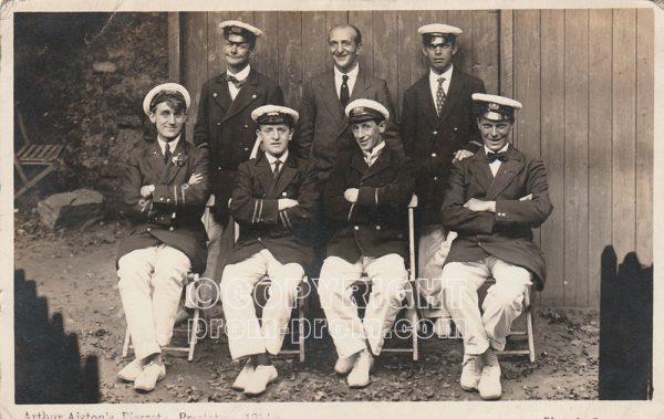 Arthur Alston's Pierrots, Prestatyn, 1914
