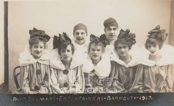 Bert Delmare's Entertainers, Barmouth, 1917