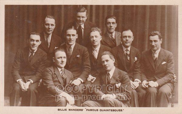 Billie Manders' Famous Quaintesques, Rhyl