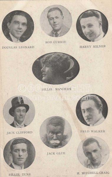 Billie Manders' Quaintesques, Rhyl, 1924 (TBC)