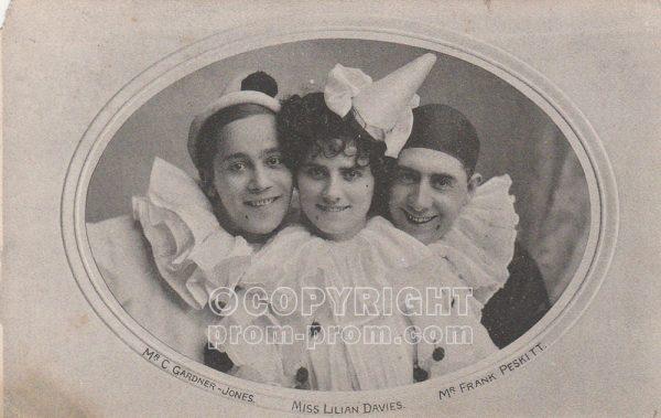 C Gardner Jones, Lilian Davies, Frank Peskitt, 1908