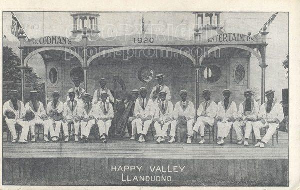 Codman's Entertainers, Happy Valley 1910