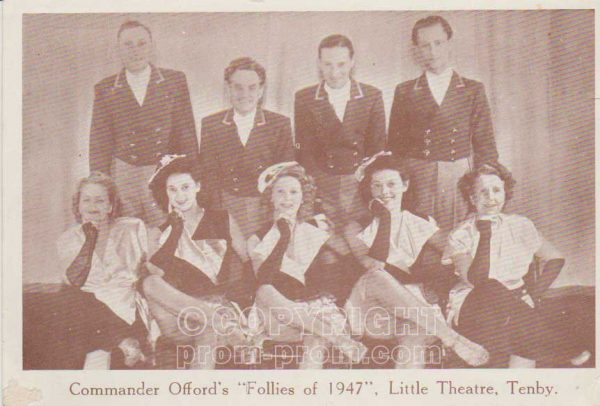 Commander Offord's 'Follies of 1947', Tenby (front)