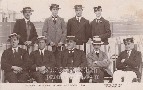 Gilbert Rogers' Jovial Jesters, Rhyl, 1914