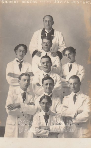 Gilbert Rogers' Jovial Jesters, Rhyl, 1914 (Front)