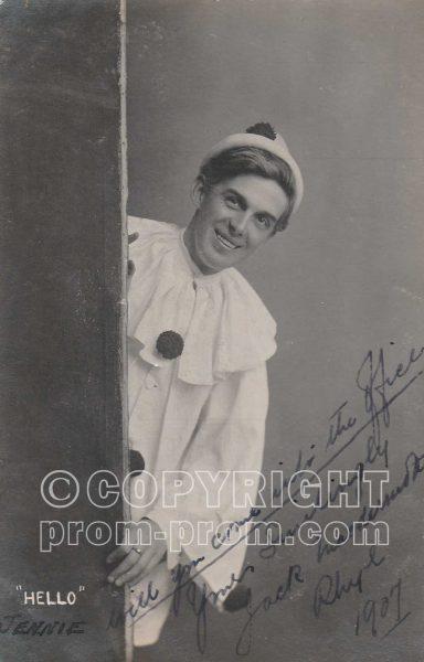 Jack MacDermott, Adeler & Sutton Pierrots, Rhyl, 1907