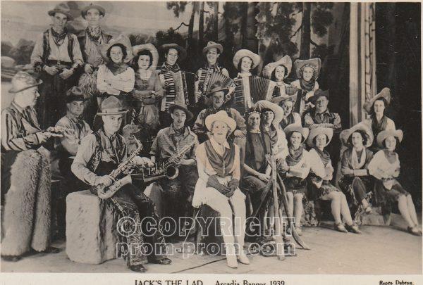 Jack's the Lad, Arcadia Bangor, 1939