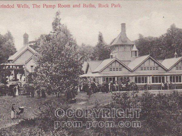 Llandrindod Wells, Rock Park & Pierrots