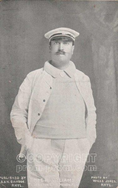 Mr EH Williams of Famous Rhyl Merrie Men