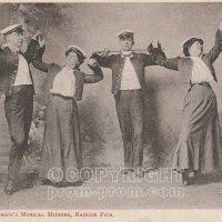 Mr Will Summerson's Musical Middies, Bangor Pier, Bangor