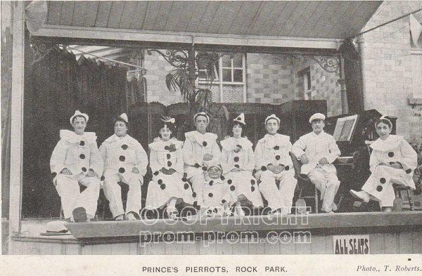 Prince's Pierrots, Rock Park, Llandrindod Wells 1904