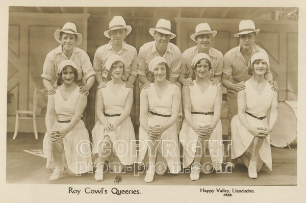 Roy Cowl's Queeries, Happy Valley 1930