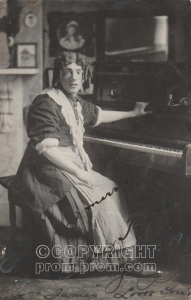 Sidney Back, Adeler & Sutton's Pierrots, Rhyl, 1909 (TBC)