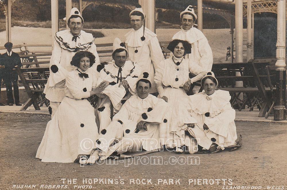 Ted Hopkins's Rock Park Pierrots, Llandrindod Wells